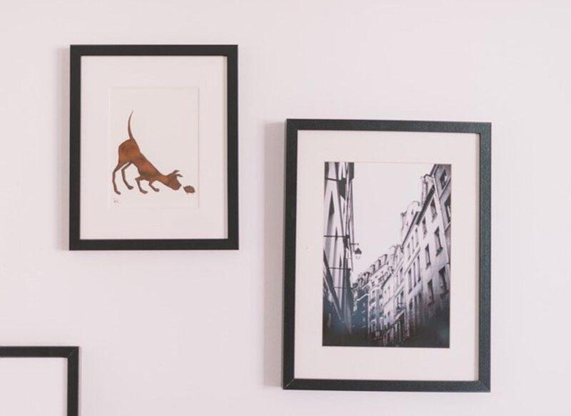Zdjęcia rodzinne na ścianie