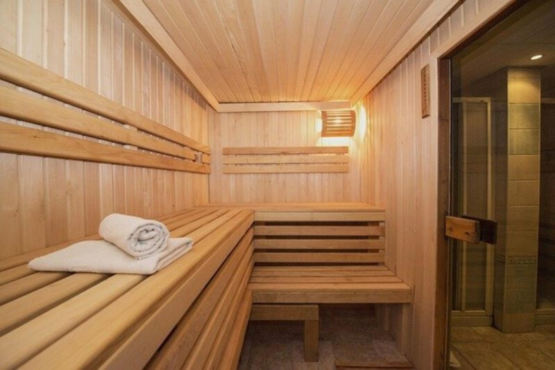 Sauna w łazience